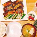 1週間献立③フライパンでお手軽「ぶりの照り焼き」と副菜の簡単夕食