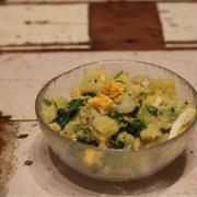 【SAKE】郷乃誉/【recipe】クレソンと玉子のポテトサラダ