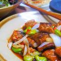 春野菜で鯖の甘酢あん♪  ハウス「アンチョビキャベツ」  グランマーブル「春限定デニッシュ」