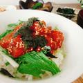 【レシピ】韓国風マグロ丼
