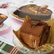 【ひとあし早いクリスマスケーキその2】スペシャルショコラケーキを包んだブッシュドノエル/ローソン