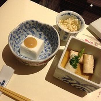 おいしいお豆腐料理*バンコクにも梅の花