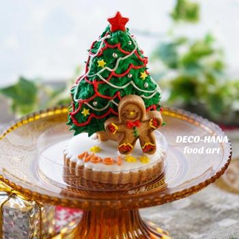 立体クリスマスツリークッキーのワークショップ
