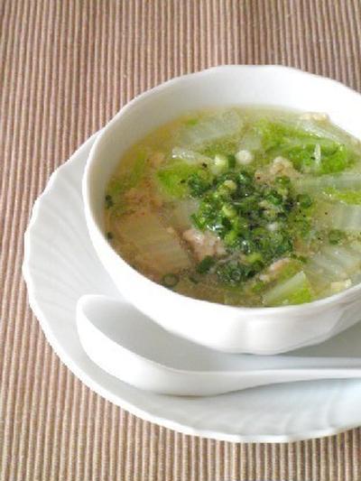 白菜のスープは大量消費にもおすすめ!からだが芯から温まるレシピ24選