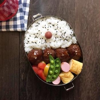 肉団子弁当 ︎☺︎