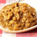 7分でできる簡単レシピ。豚肉切り落としでポークカレーの作り方。