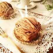 アールグレイ香る ロールケーキのモンブラン