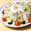 【NO.85】シーザーサラダの作り方【手作り簡単ドレッシング】 by つくるさん