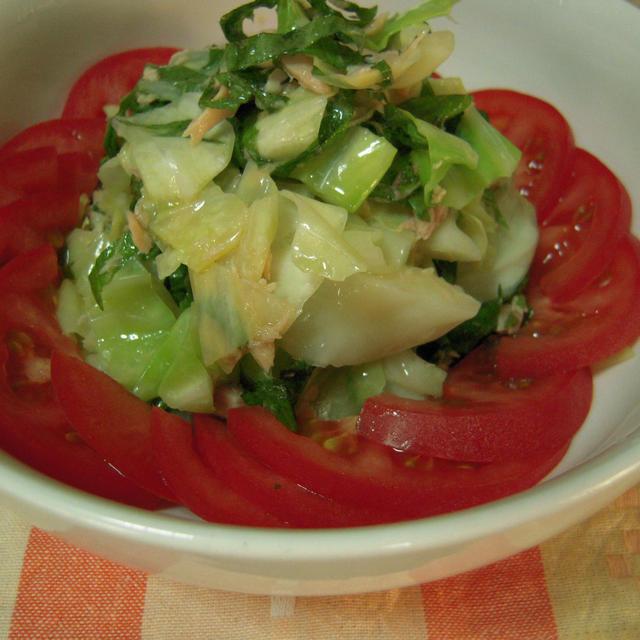 キャベツとツナのサラダ【祝】ブログ開設8周年♪