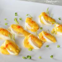 ほっくり甘い・かぶの卵黄入りマヨネーズ焼き♪