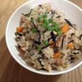 ラフテーを使って作る沖縄の炊き込みご飯 「ジューシー」
