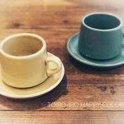amabroのカップ&ソーサー