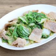 白菜消費におすすめレシピ!白菜と豚肉のシャキシャキたれ味噌いための作り方。メインになる常備菜。