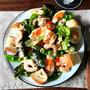 【フォカッチャレシピ】春野菜のパンサラダ、新玉ねぎとツナのフォカッチャなど