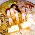 【レシピ】モチベーコンぎょうざの濃厚みそ鍋(^^♪