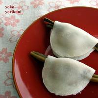 1月の和菓子 花びら餅