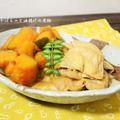 カボチャと油揚げの煮物