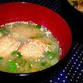 【レシピ】満足★食べごたえあり【肉団子の味噌汁】(^^♪ by ☆s4☆さん