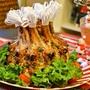 クリスマス料理の王道【クラウン(王冠)ローストポーク】ゲストの歓声が聞こえます!