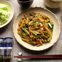 GABANスパイスを使って、エスニック風味の野菜たっぷり青椒肉絲が美味しい♪