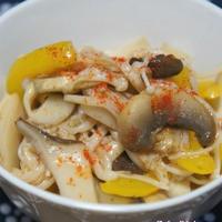 お弁当に☆副菜に☆きのこのマリネパプリカ風味