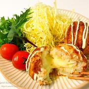 ストック品で作る♡ <らくウマ>とろ〜りチーズ&ツナコロッケ