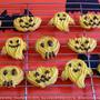 かぼちゃの絞り出しクッキー・ハロウィンパージョン
