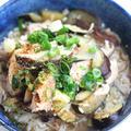 宮崎産「乾しいたけ」で、干し椎茸と塩麹のにゅうめん by あずさ猫さん