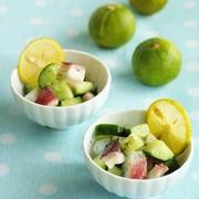 食感を楽しむ夏のとっておき♪きゅうりとタコの和え物レシピ