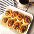 イチゴジャムと餡で、いちご餡のパン @今回は輸入強力粉で。 &「くらしのアンテナ」でレシピ掲載