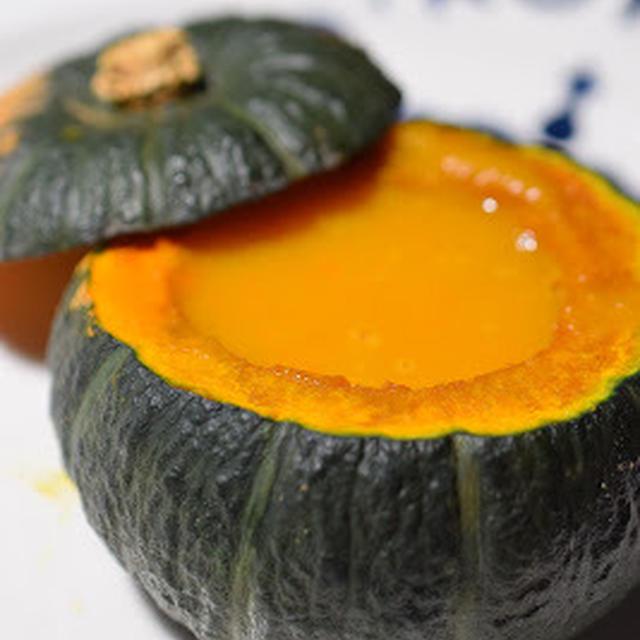スパイシーなかぼちゃスープ