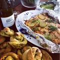 Karfreitag聖金曜日の食卓〜サーモンの粒マスタードオーブン焼き〜お花見弁当