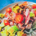 58℃ 牛もものコールドビーフサラダ by 低温調理器 BONIQさん