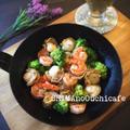 ワインと楽しむ食卓に♪おつまみ&ごちそうレシピ !エビとホタテとブロッコリーのプロヴァンス風