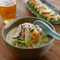 【レシピ】野菜たっぷり☆豆乳ちゃんぽん麺