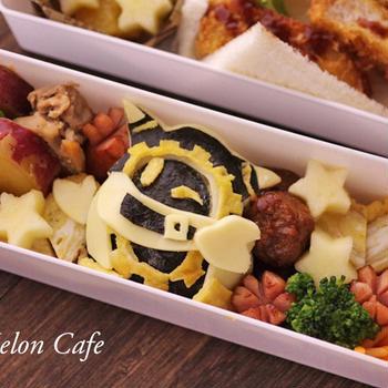 本日のこども弁当☆「星のカービィ スターアライズ」からマホロアのキャラ弁当