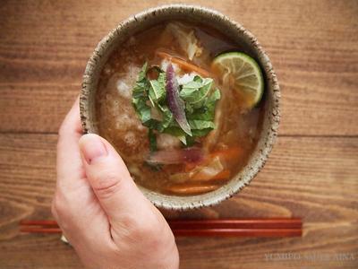 宮崎産の季節野菜の味噌汁で体調を整えよう