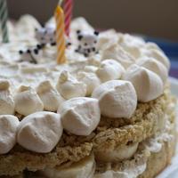 洋梨とアールグレイのケーキ