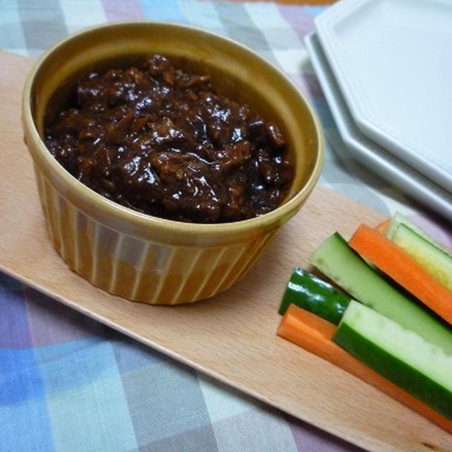 ジャージャー麺の味噌