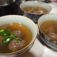 【ヤマキだし部】昨日の父の日~だしづくしのお料理その①マグロのつみれ汁。