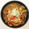 全部ぶっ込みカレースープ!饂飩・素麺・お蕎麦に!
