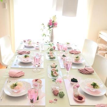 春色ランチ会と桜餡のねじりパン
