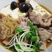 豚こまと焼き豆腐のすっきり煮<カンタン♪旨うま>