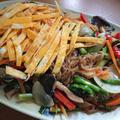 簡単!野菜たっぷりこんにゃくチャプチェ。漢方医の韓国レシピ☆ダイエットにも