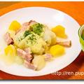 ゴロゴロ野菜のロールキャベツ