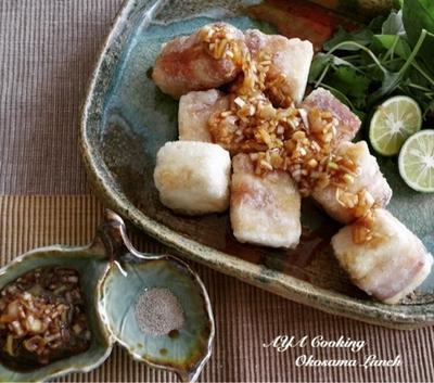 トーク力…とワイヤーママ嬉しいおハガキ・豚バラ豆腐のユーリンチー