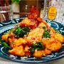 【レシピ】鶏むね肉とニラのピリ辛炒め