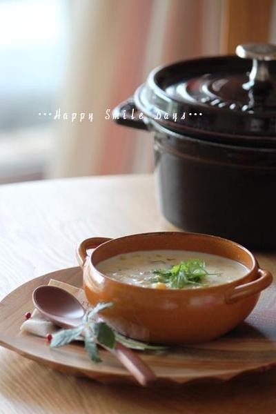 粒々コーンスープ。~スパイス大使2012~