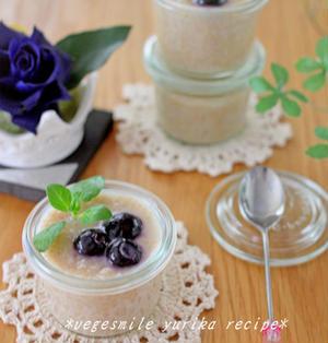 ライスミルクチアプリン