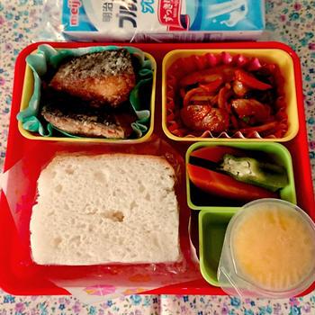 9月の幼稚園給食代替お弁当